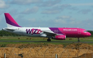 A WizzAir esetében könnyen felismerhető rózsaszín-lila festés