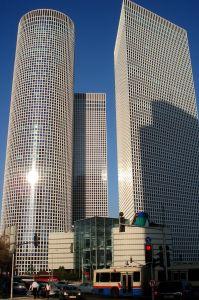 Tel Aviv felhőkarcolói